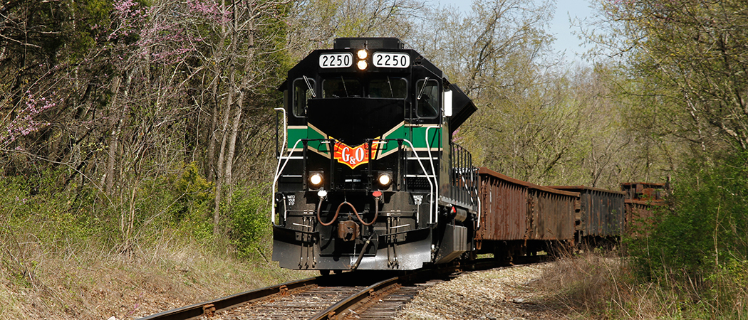 Knoxville Locomotive Works engine out for a successful test run.