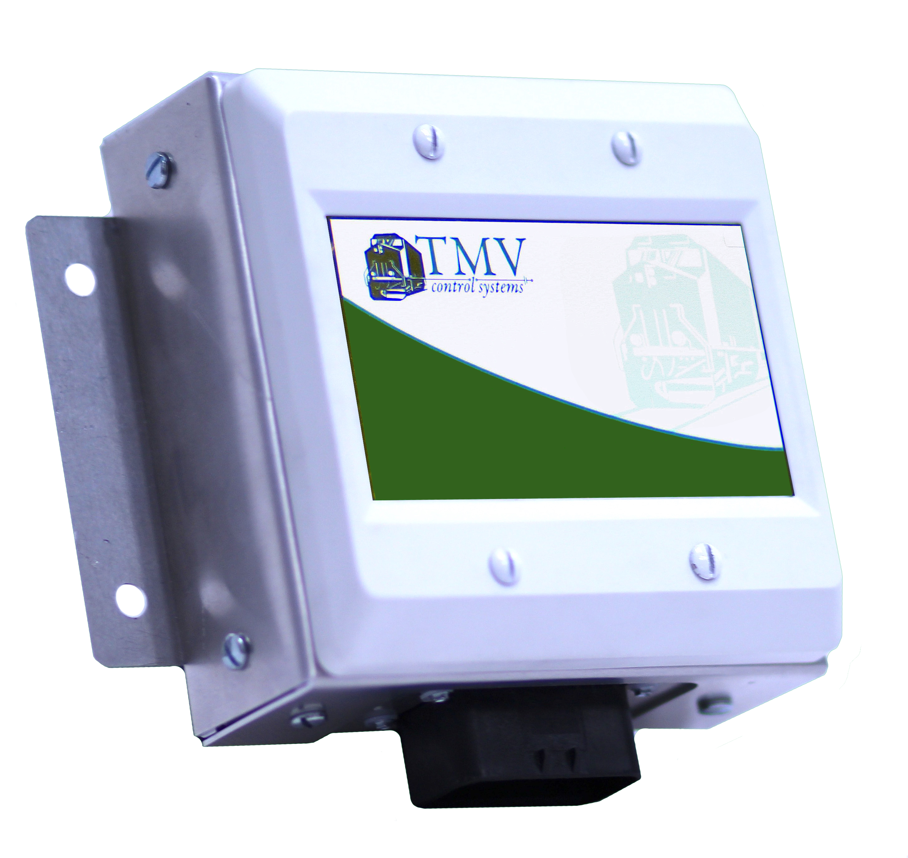 Watt hour meter for locomotive, TMV display, easy discover Megawatts used per hour, for operator record keeping and efficiency, asset-management aid